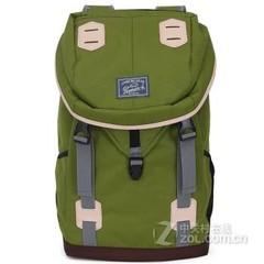 Promax新款旅行双肩包大容量户外休闲背包女男士学院风多功能书包MD1038B-40 绿色