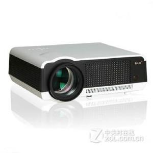 轰天砲(Poner Saund)LED-86+家用投影机 投影仪办公WiFi+1080P 白色 套餐二