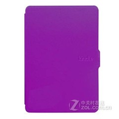莺宝亚马逊kindle paperwhite 休眠皮套 kpw一二代保护套保护壳 罗兰紫 Kindle paperwhite899款式