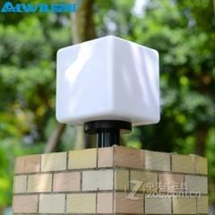 爱惟户外围墙柱头灯7002 20cm+5W白光