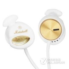 马歇尔MARSHALL MINOR 入耳式耳机手机摇滚音乐调节线控通话通用 白金