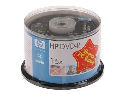 惠普 DVD-R(50片装)