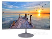 三星27英寸曲面显示器 C27F591FDC无边框电竞液晶台式电脑曲屏幕