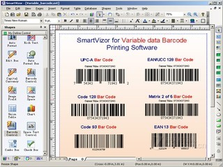 UCCSOFT SmartVizor可变数据批量打印软件