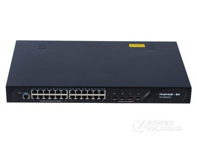 锐捷网络 RG-NBS5628XG 24口千兆三层环网交换机 4个SFP+万兆光口 现货2600特价13911563424