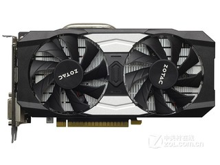 索泰GeForce GTX 1050Ti-4GD5 银河版 HA