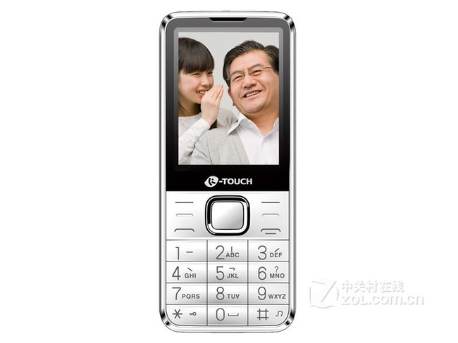 天语T2智能手机(金色双卡双待老人机)京东89元