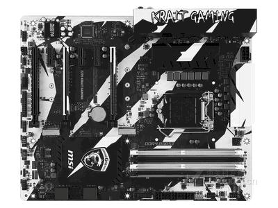 微星 Z270 KRAIT GAMING  刀锋散热!11相数字供电→强化铠甲→VR视觉引擎+音皇IV→GAMING网卡→支持SLI