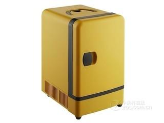 璇信车家两用迷你冰箱 7L 黄色