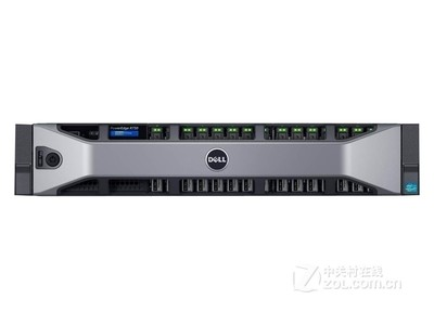 DELL/戴尔 PowerEdge R730 机架式服务器(Xeon E5-2603 v4/8GB*2/2TB)