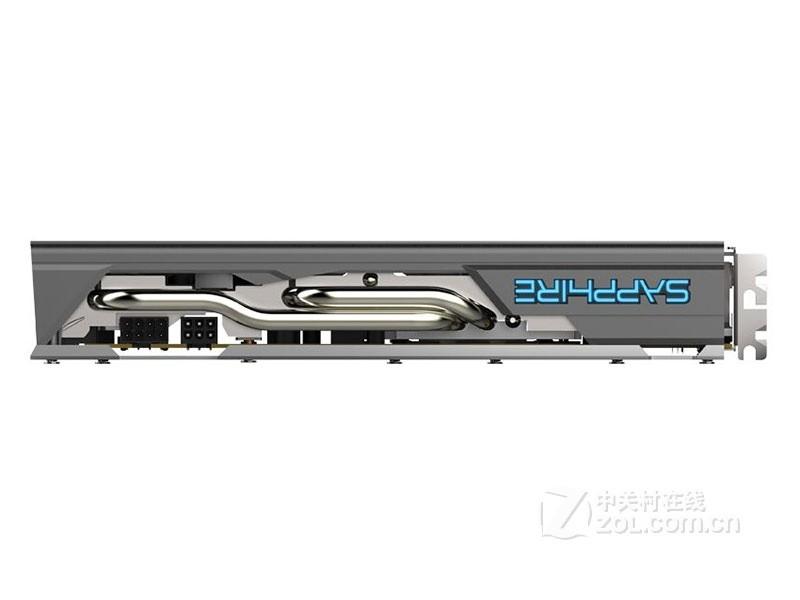 蓝宝石RX 580 8G D5 超白金 限量版整体外观图