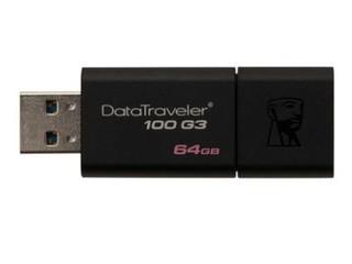 金士顿DataTraveler 100 G3 USB3.0闪存盘(64GB)