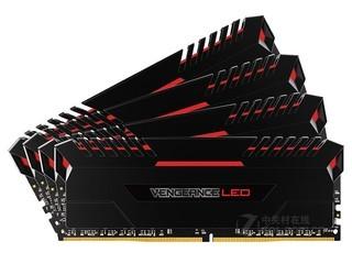 海盗船复仇者LED 64GB DDR4 3000(CMU64GX4M4C3000C15R)
