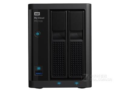 西部数据 My Cloud Pro PR2100(WDBBCL0000NBK)