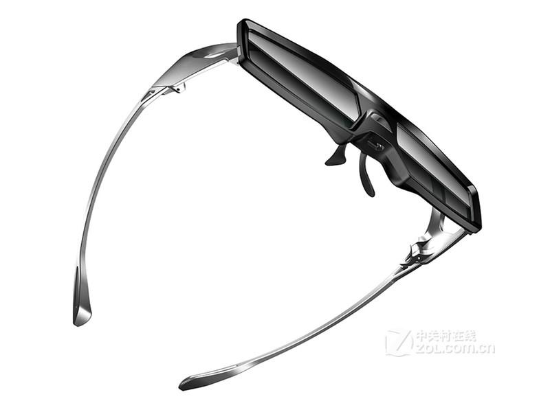坚果3D眼镜(新款)整体外观图