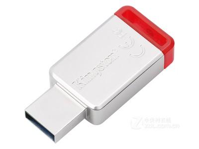 金士顿  DataTraveler 50 USB3.1闪存盘 红色(32GB)联保