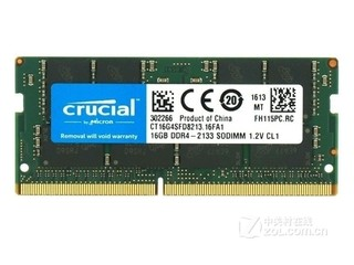 英睿达16GB DDR4 2133(CT16G4SFD8213)