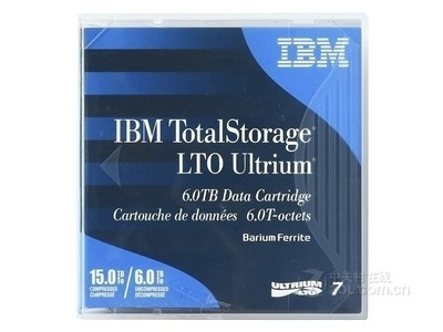 IBM LTO7 Ultrium 6TB磁带(38L7302)