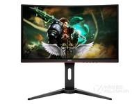AOC 24英寸曲面144HZ电竞游戏显示器曲屏吃鸡电脑显示屏幕C24G1