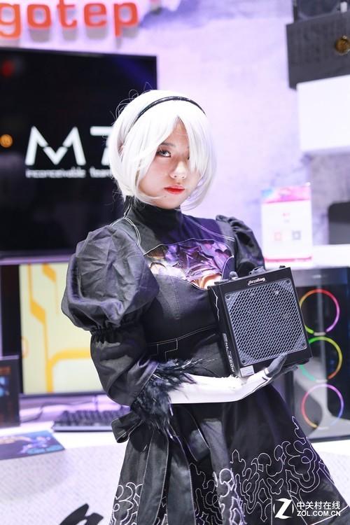 游戏中国风 鑫谷盛装出席Chinajoy2018