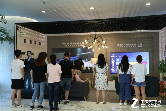 赋能精准营销 太阳城平台激光电视开启超级公司巡展