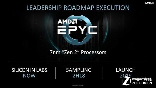 AMD 7nm新品将于年底出货 包括CPU和GPU