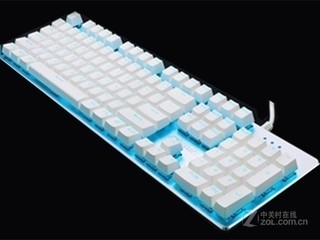 迪士摩G800白色青轴蓝冰版机械键盘