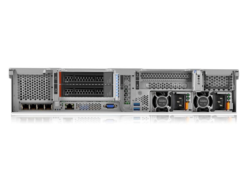 联想ThinkSystem SR650(Xeon 铜牌3104/16GB*2/600GB*4)
