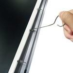 宏影画框幕16:9 PVC正投10mm超窄华框幕