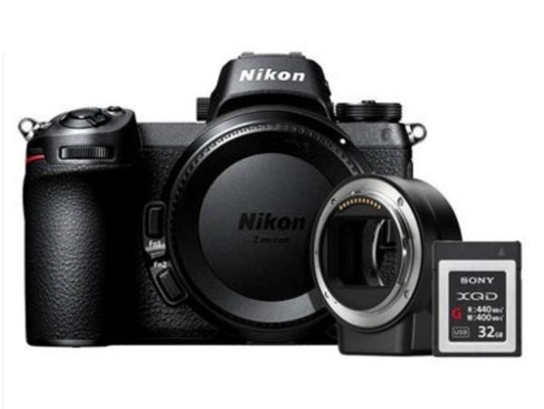 尼康Z6 24-70mm f/4套机+FTZ转接环 全画幅 微单相机 Z6套机