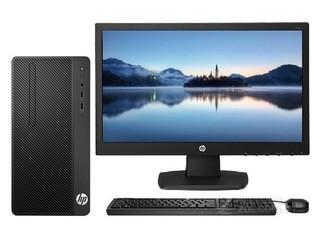 惠普288 Pro G4 MT(i3 8100/4GB/1TB/DVD/集显/20.7LED)