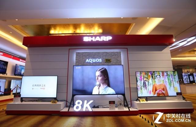 夏普孙月卫:8K+5G战略布局中国市场