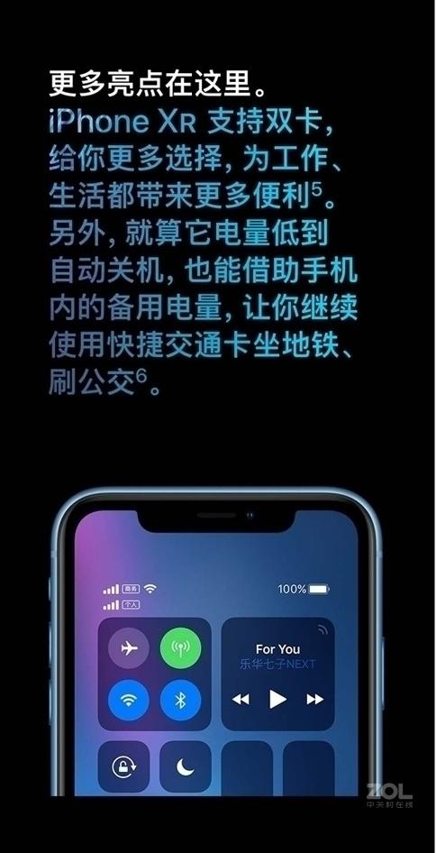 苹果iPhone XR(全网通)评测图解产品亮点图片15