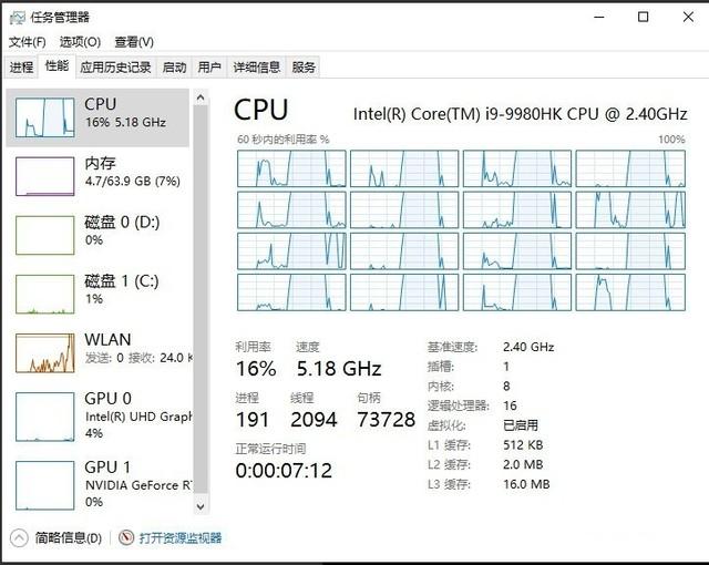 轻松超频5.2GHz 酷睿i9 9980HK极限探秘