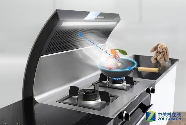 无烟新境界 你的开放厨房只差这台机器了