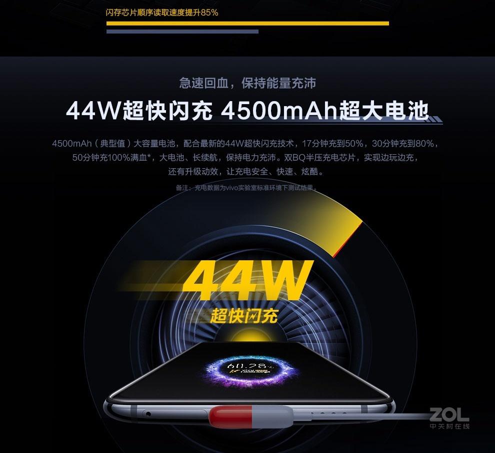 vivo iQOO Pro(8GB/128GB/5G全网通)评测图解产品亮点图片5