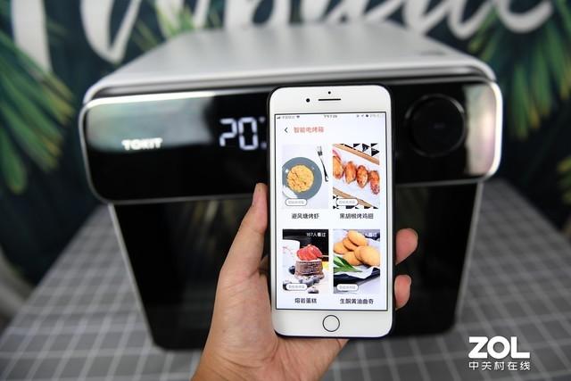 一台会拍照的烤箱长啥样?Tokit智能电烤箱体验