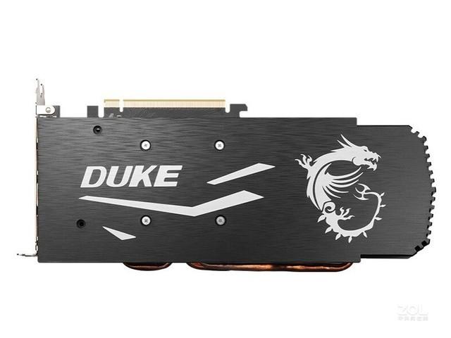 微星RTX 2060 DUKE暗黑龙爵 性能显卡
