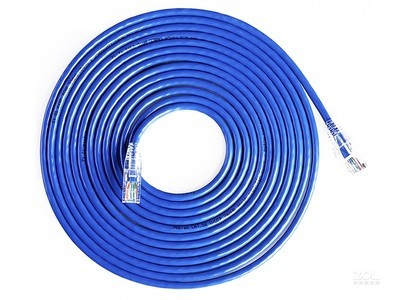 得标 超五类网络跳线1米GL-5001