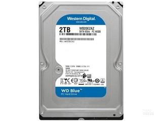 西部数据蓝盘 2TB 5400转 256MB SATA3(WD20EZAZ)