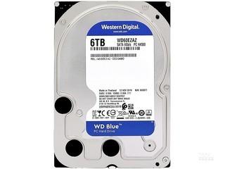 西部数据蓝盘 6TB 5400转 256M SATA3(WD60EZAZ)