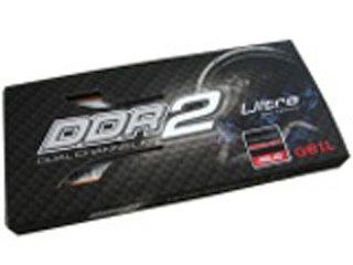 金邦超频板Ultra Low Latency 2GB(PC2-6400/DDR2 800)