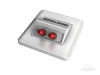 一舟双口斜口光纤面板(ST,不含适配器)A160-B7