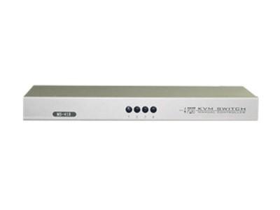 LANBE MS-41R 1组KVM操作4 台主机 机架式    手动切换