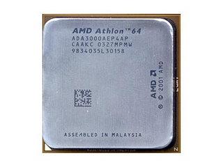 AMD 速龙64 3000+/ClawHammer(散)