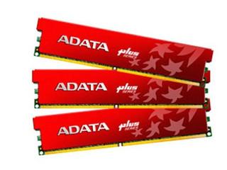威刚6GB DDR3 1333+(极速飞龙三通道)