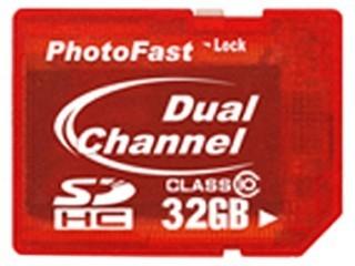 PhotoFast Dual Channel SDHC卡 CARD Class10(16GB)