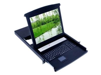 """LANBE AS-3100LG 三合一控制台、显示器、键盘、鼠标机架式一体机(15\\\"""")"""
