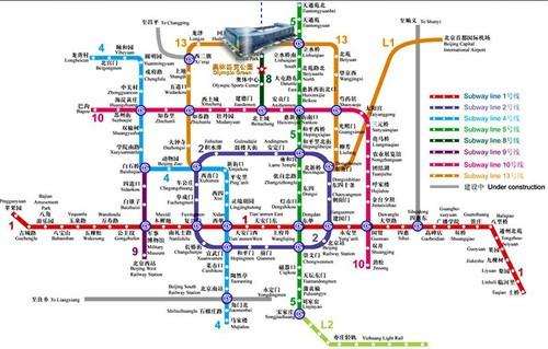 地铁靠谱须趁早 P&E2011观展攻略交通篇