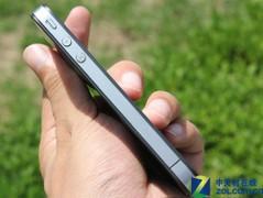苹果 iPhone 4 黑色 左侧图